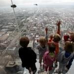 Los balcones transparentes de la Torre Sears