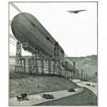El zepelín-ferrocarril