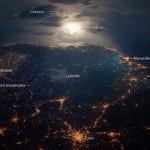 Y la Luna miró al Mediterráneo…