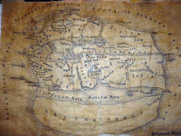 Pomponio Mela map