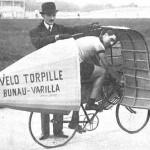 Étienne Bunau-Varilla y su bici-torpedo