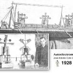 El autoelectromotor de Coto Gutiérrez (1928)