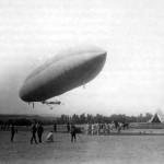 Cuando España volaba en dirigible