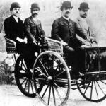 Francesc Bonet y Emilio de la Cuadra, pioneros del automóvil
