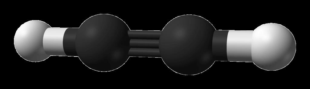 Molécula de Acetileno.