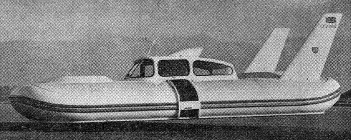 Cushioncraft CC-2. Fuente: New Scientist 21 de marzo, 1963.