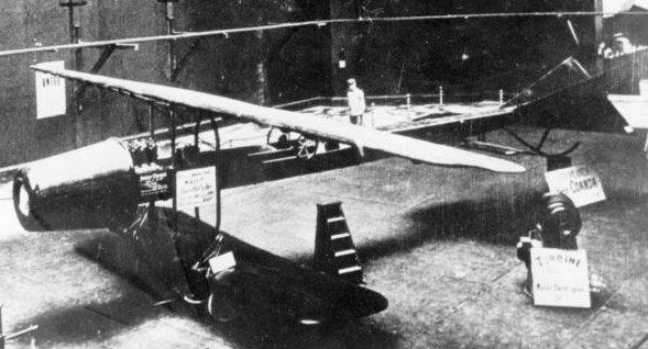 Diseñado por Henri Coandă, este avión presentado en 1910 es considerado como el primer reactor de la historia. (PD).